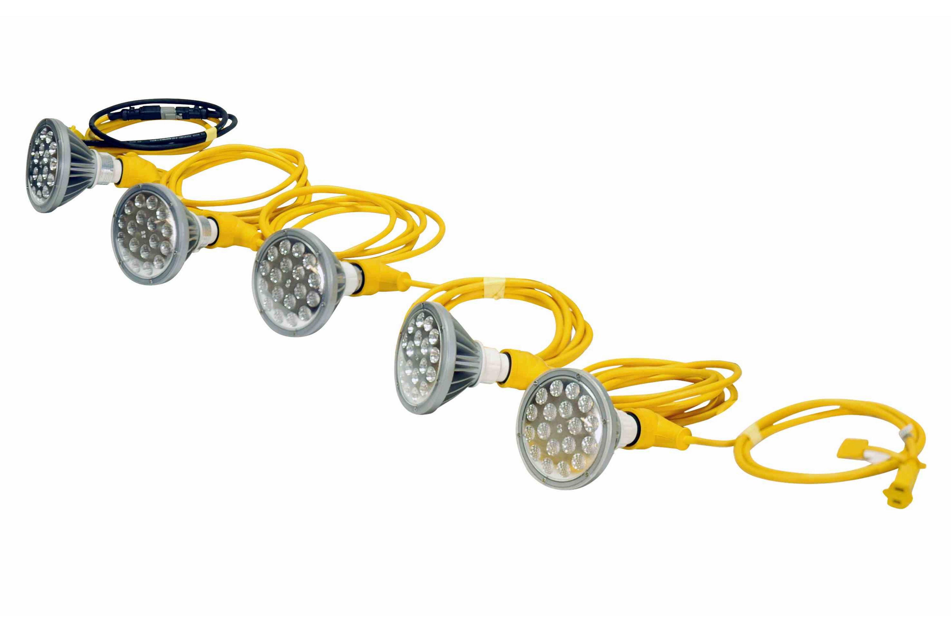 Construction String Lights Led