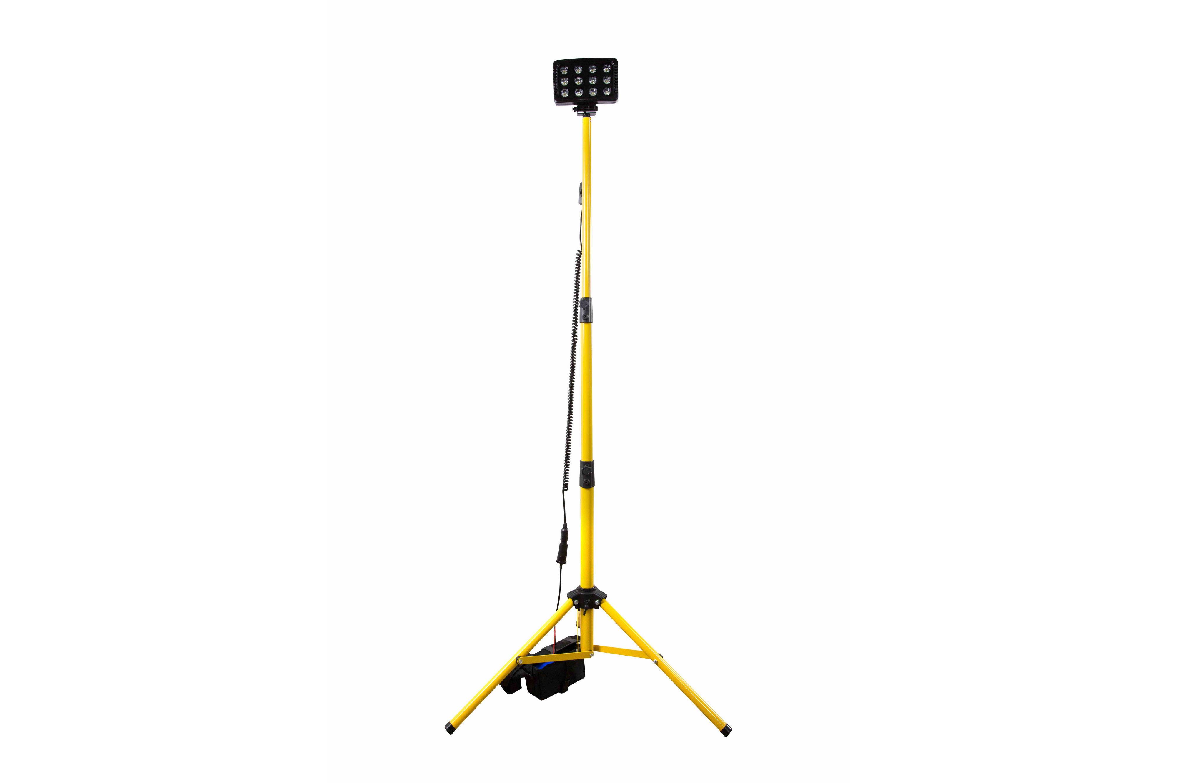 36 Watt Portable Rechargeable Led Tripod Lighting System