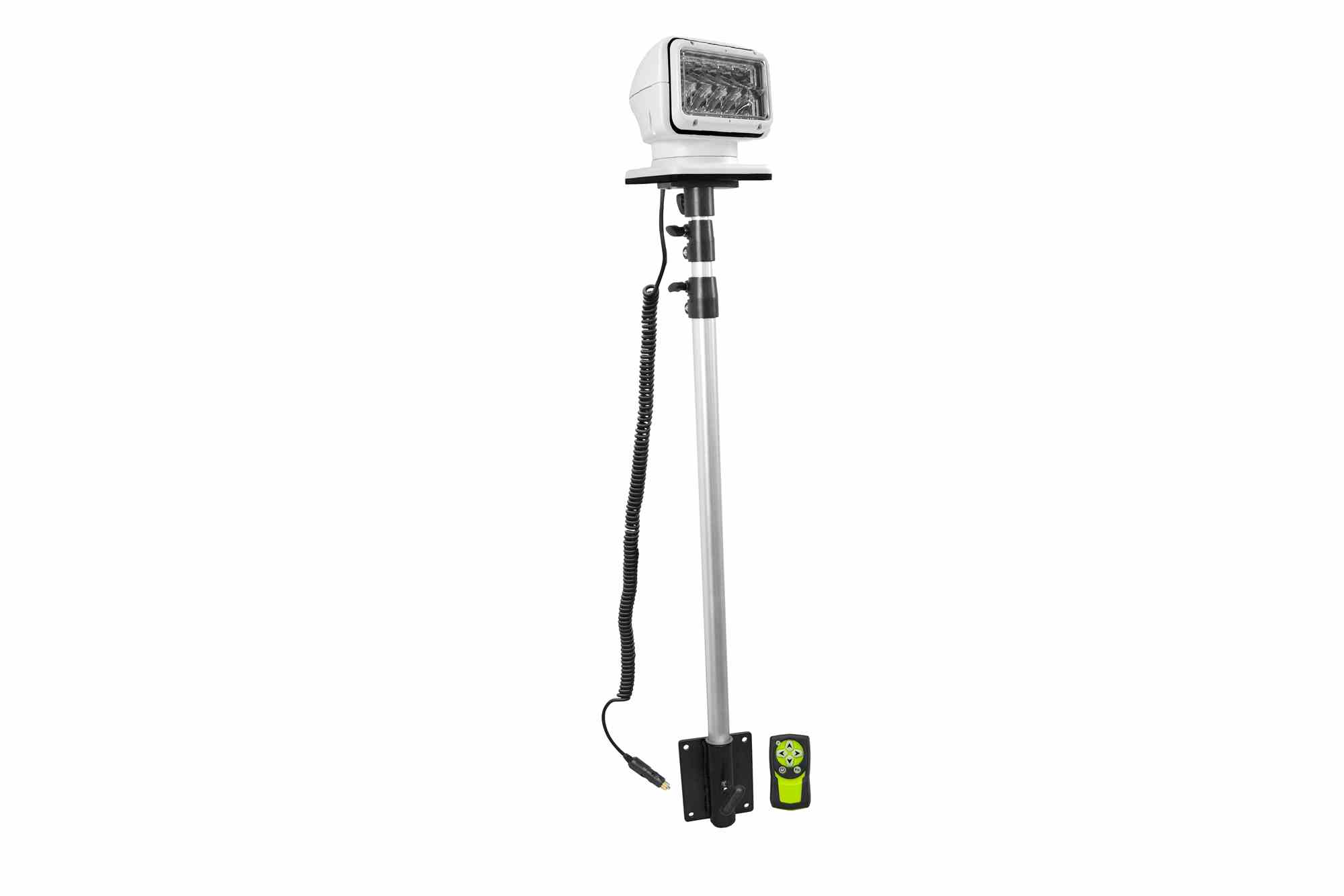 Golight Led Spotlight On Telescoping Pole Mount Amp Mounting