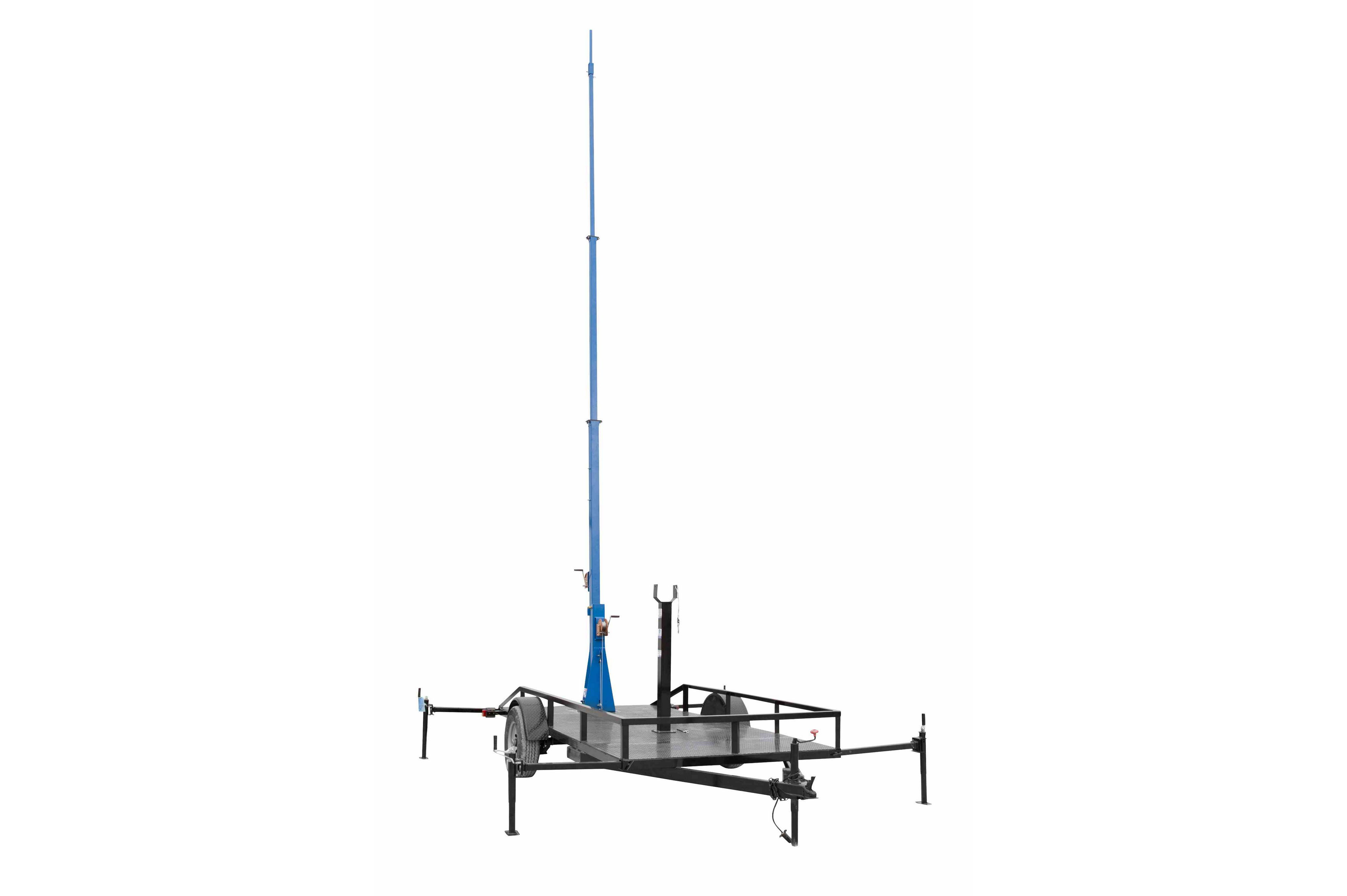Mobile Communication Tower W Trailer