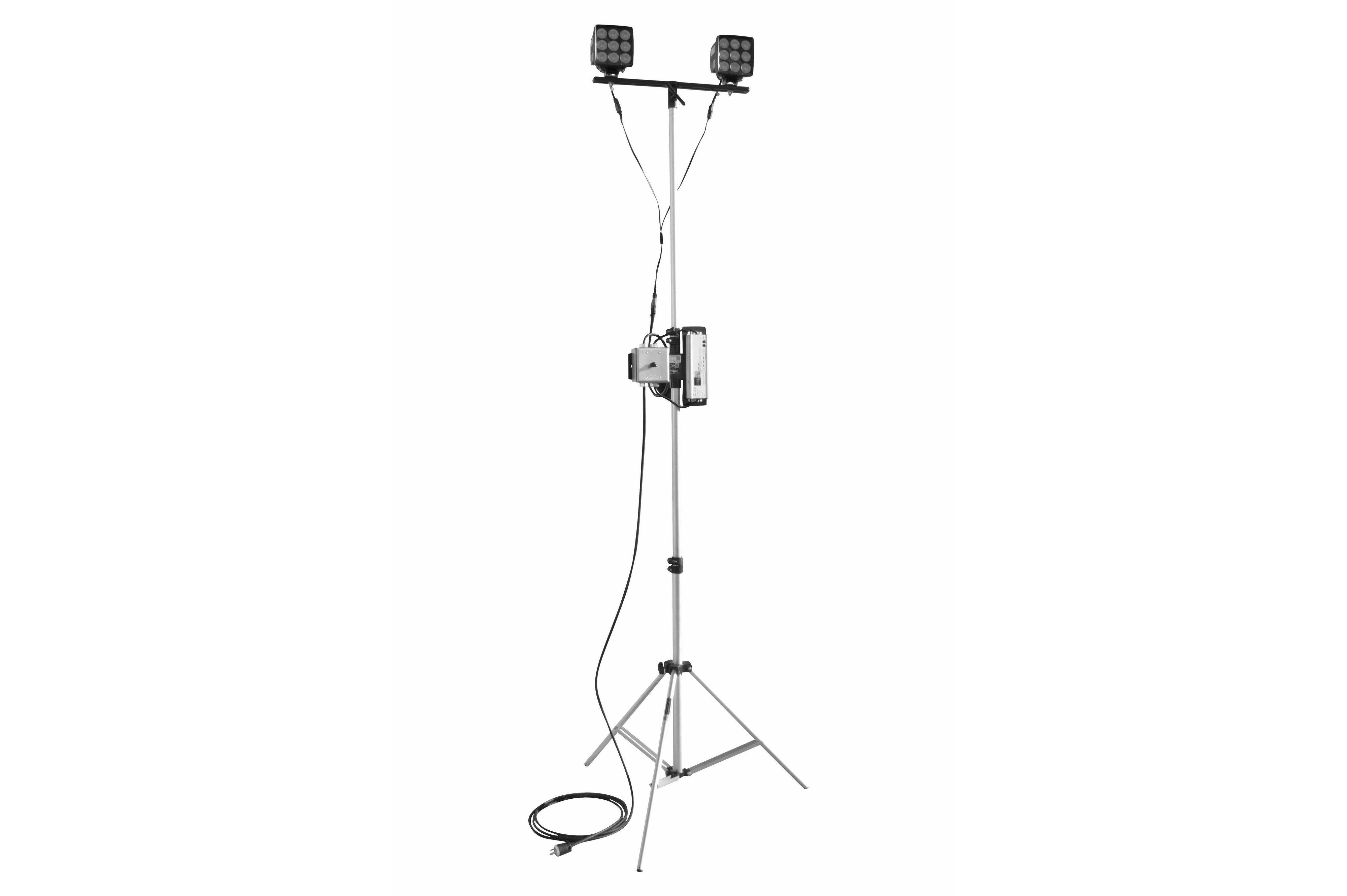 180 Watt Dual Led Light On Telescoping Tripod