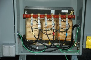 75 KVA Transformer Power Distribution  Three Phase 480V to Single Phase 120240V  Nema 3R