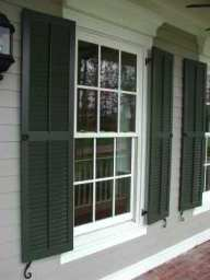 Pine Wood Exterior Shutters