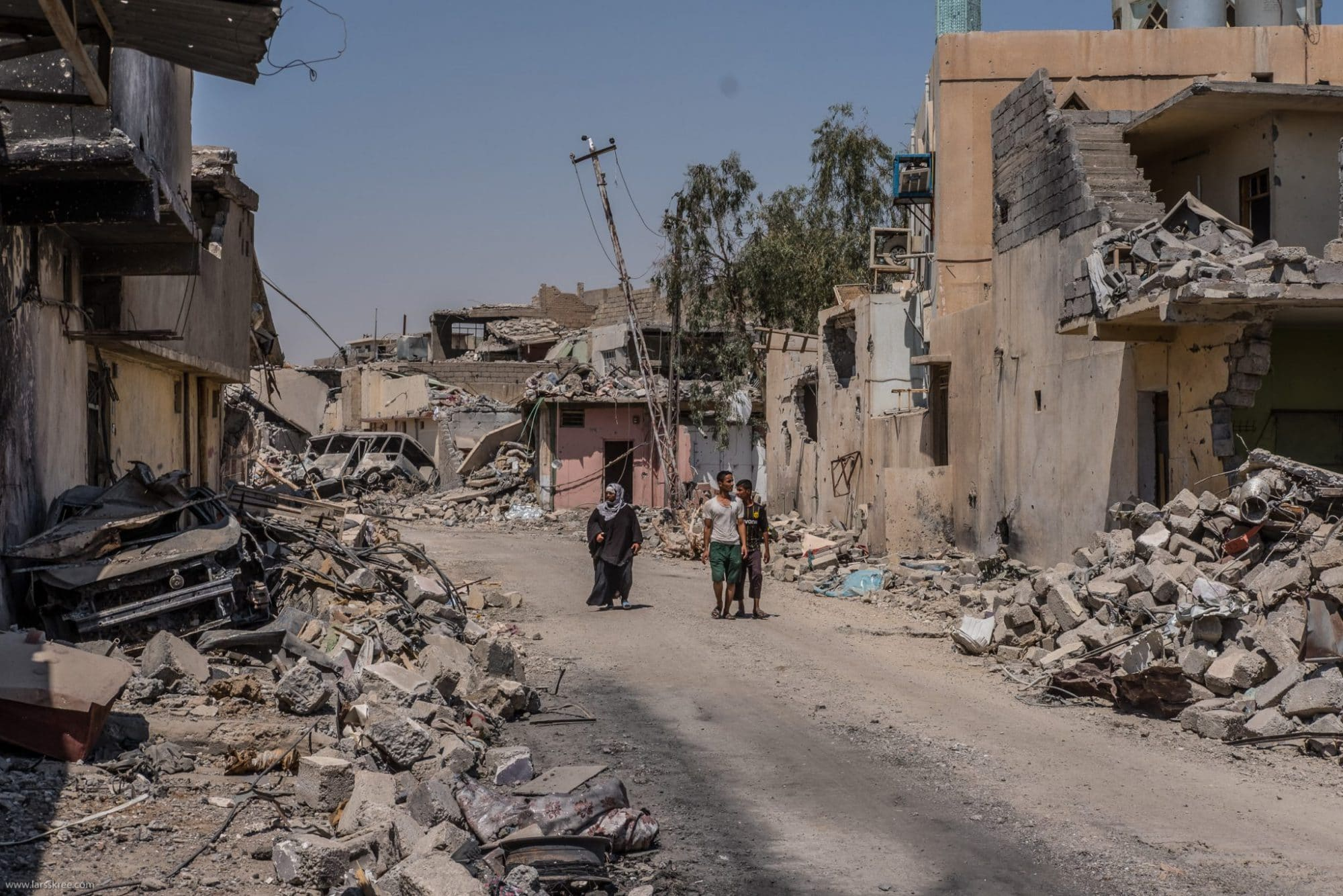 West Mosul just same day it was liberated from ISIS