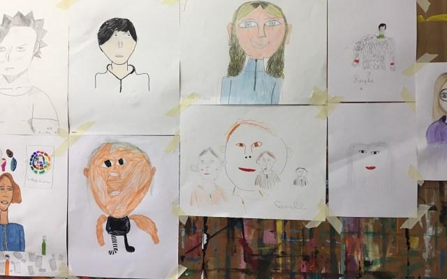 Portrait, auto-portrait: un moment d'attention à soi et aux autres