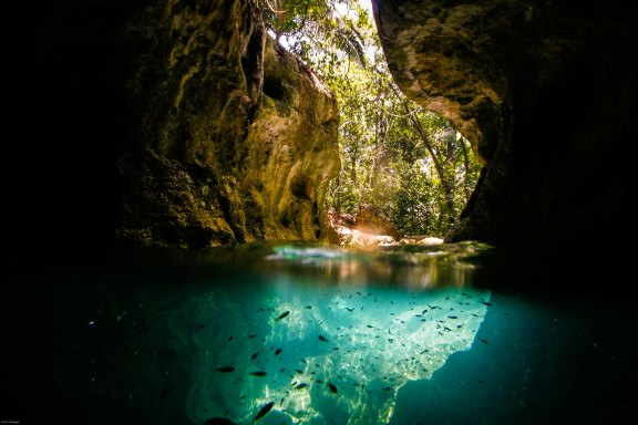 ATM-CAVE IN BELIZE