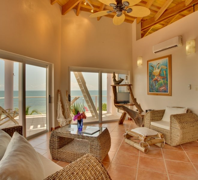 Placencia Belize 3BR Oceanfront Suites-6