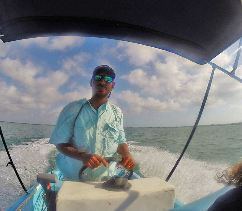Belize fishing tours- reef