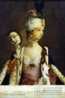 Allegorie – Anonyme Hinterglasmalerei, Frankreich, 18. Jhdt