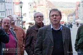Kein Geeigneter hätte die Führung durchs Rottweiler Stadtmuseum geben können, als der ehemalige Rottweiler Stadtarchivar Dr. Winfried Hecht
