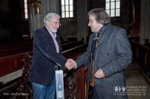Werner Mezger mit Wolfgang Koch