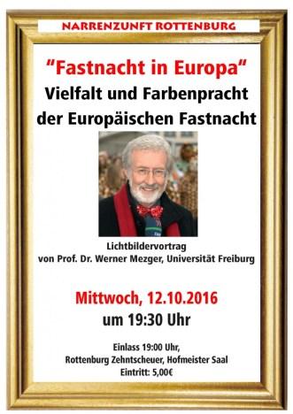 Vortrag Prof. Werner Mezger