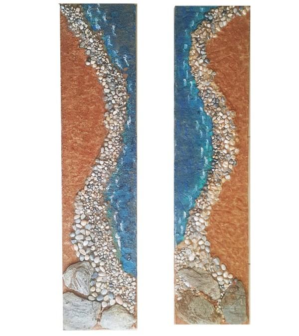 üç boyutlu deniz tablo