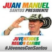 ¿Santos hace campaña en la costa con sombrero importado de China?