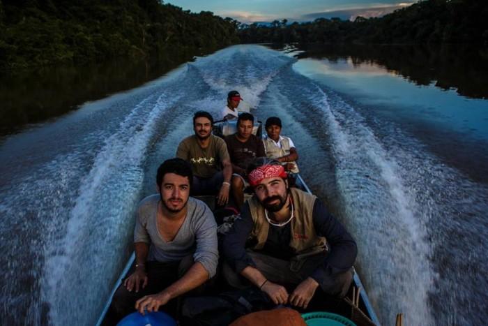 Recorriendo el verdadero país / Foto Federico Ríos.