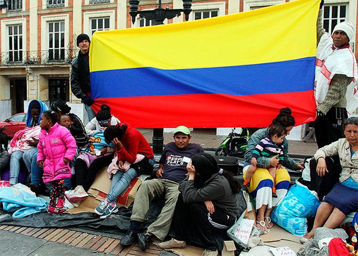 Con 6.9 millones, Colombia primer país del mundo en desplazados internos
