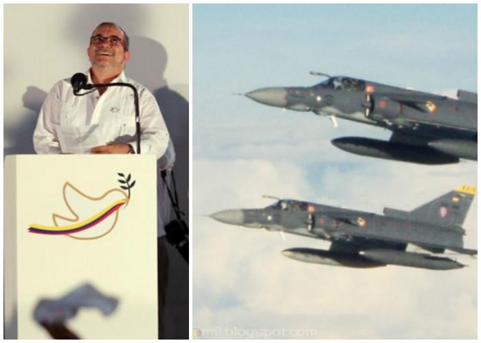 ¿De quién fue la estupidez de mandar tres aviones de guerra al final de un proceso de paz?
