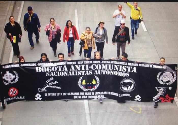 Uno de los grupos que fue atacado fue el que lidera Richard Weich líder de la Acción Nacionalista del Pueblo (ANP) un grupo que se identifica como de derecha nacionalista y participó en la marcha del No