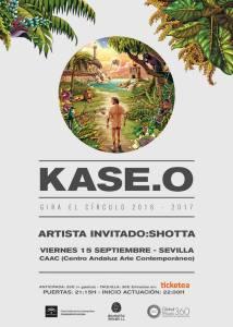KASE.O cartel concierto KASE.O KASE.O