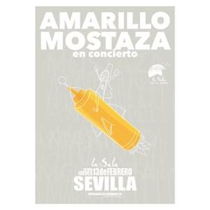 amarillo mostaza cartel sevilla Amarillo Mostaza Amarillo Mostaza