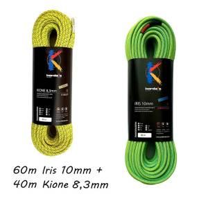 60m iris 10 + 40 m kione