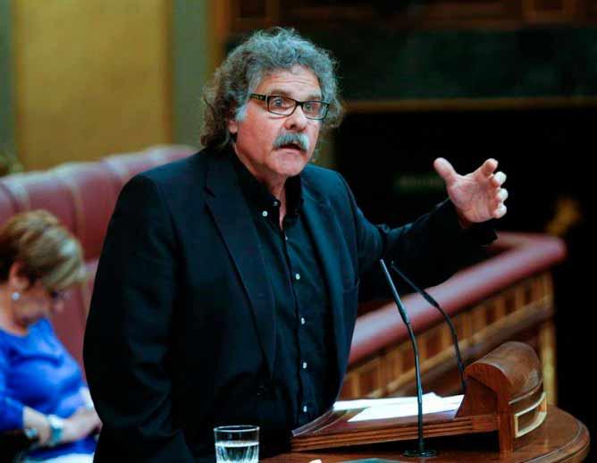 La legalización de la marihuana es sólo cuestión de tiempo, según el Diputado de ERC Joan Tardà