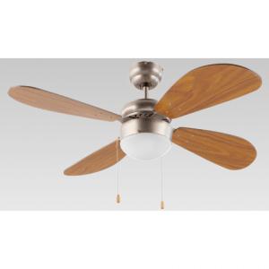 Ventilador Fm vt-105 4 aspas c/luz