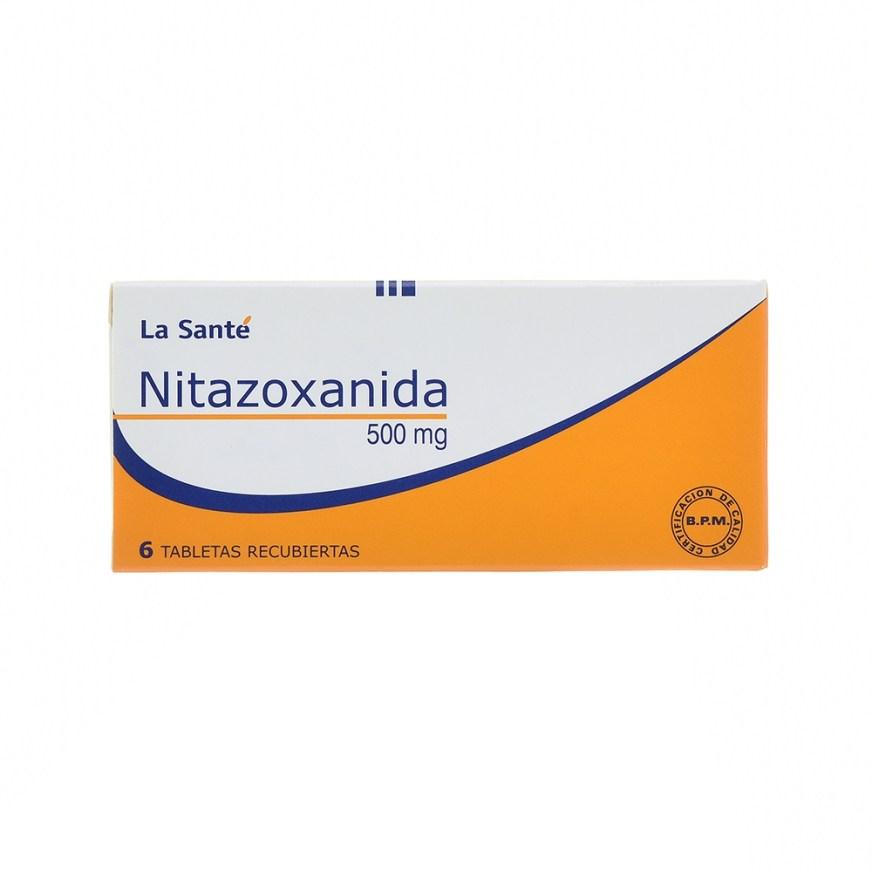 NITAZOXANIDA 500MG TABLETAS X6 – La Santé