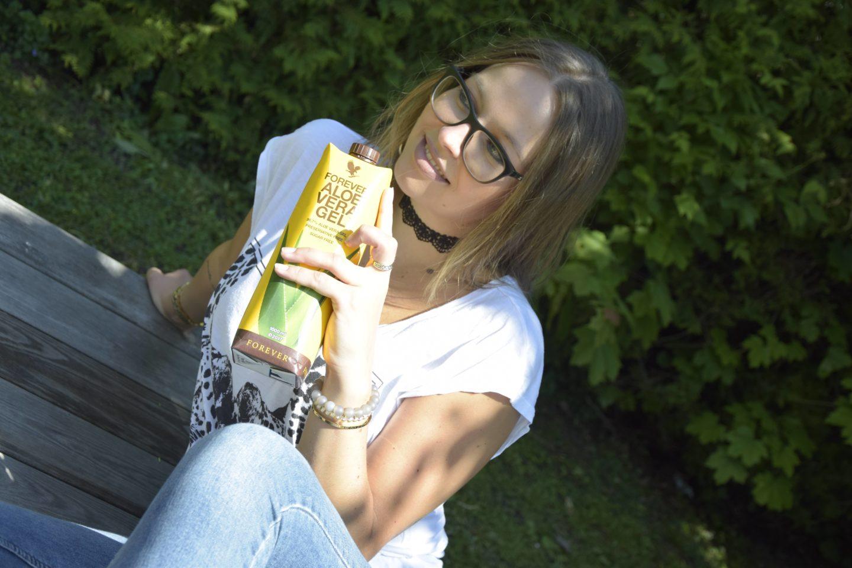 Heilmittel gegen Migräne Aloe Vera Saft hilft Sara Erb aka La Sara Leona