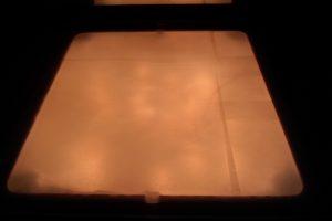 Mesa de Luz - filtrado de la luz con papel de horno