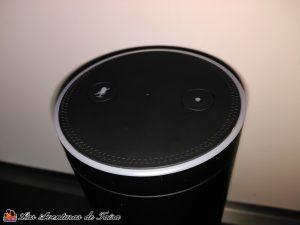 Amazon Echo parte superior