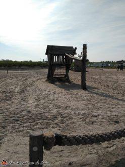 Parque en la playa del Nordsee junto a Center Parcs 2