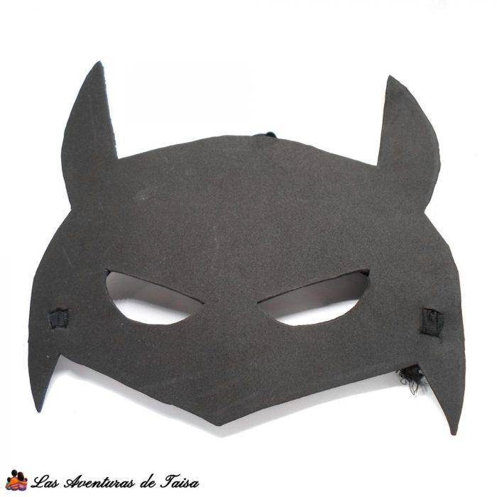 Máscara Batman - Disfraz Batman casero DIY