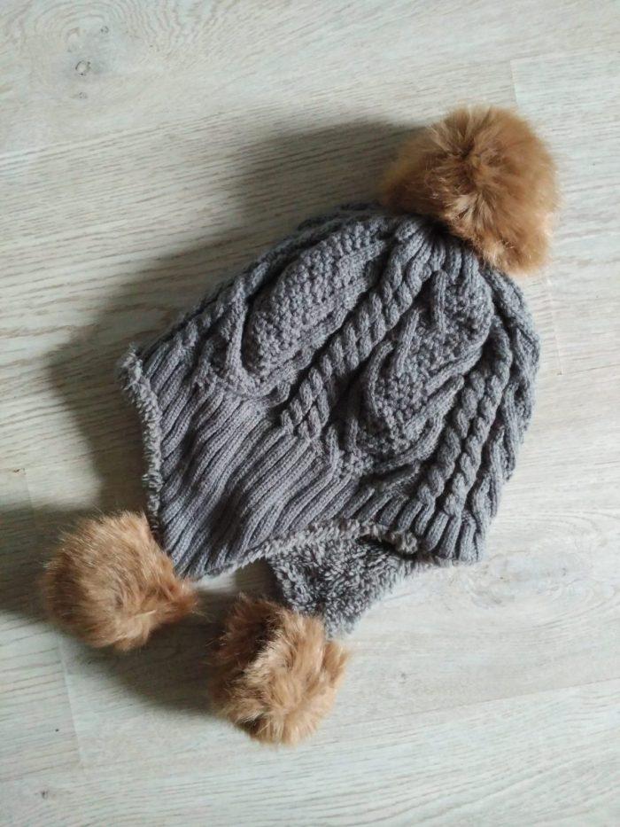 Gorro de lana forrado de oferta 5€
