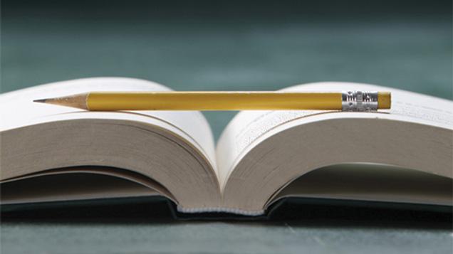 libro con pagine bianche