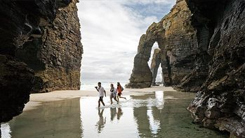 excursion playa de las catedrales