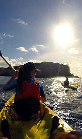 Bautismo Kayak de Mar Puerto Cudillero