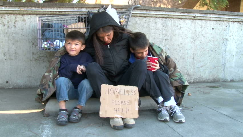 Image result for photos of homeless families