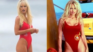 Pam & Tommy: Lily James è identica a Pamela Anderson nelle nuove foto