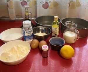 Mi morena Purple Velvet Cake ingredientes