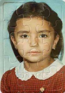 Mi morena recuerdos de niñez foto puzzle