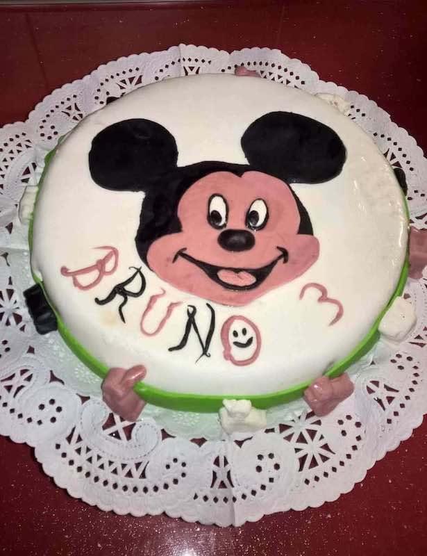 Mi morena Tarta Mickey
