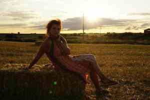 Mi morena Puesta de sol puestos de amor