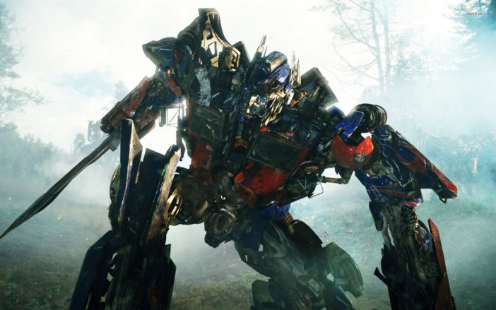 Optimus Prime from Michael Bay's Transformers Revenge of the Fallen.