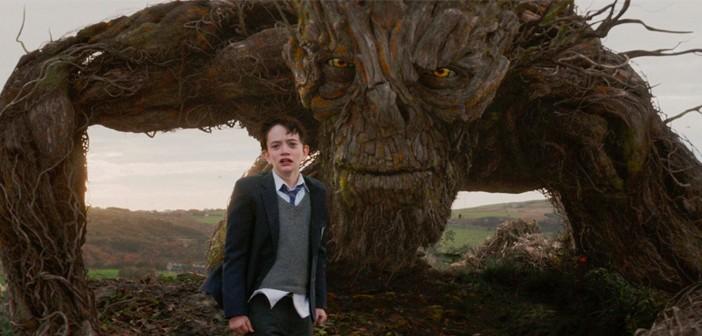 Momento de la película Un monstruo viene a verme, de JA Bayona