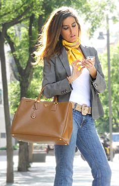 Classic Tote Bag Prada streetstyle