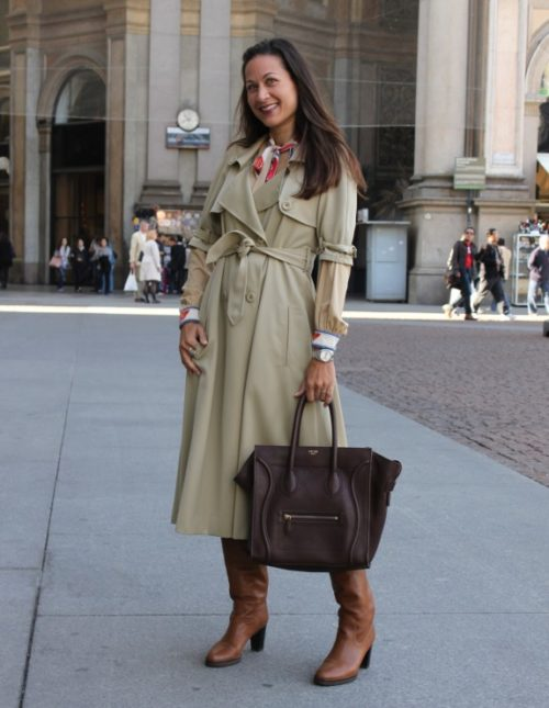 Street style con Bolso Celine modelo Boston