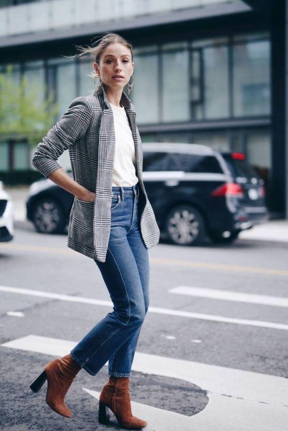 5 Outfits sencillos_Jeans and Blazer La Selectiva Blog