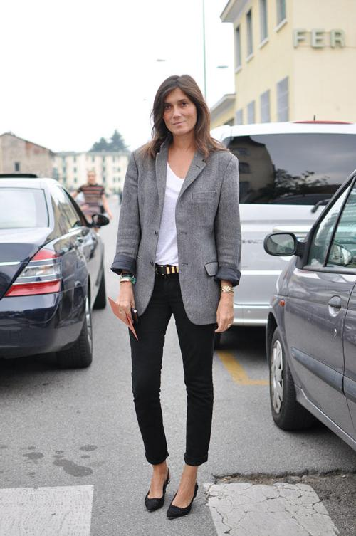 Emmanuelle Alt, look sencillo compuesto de básicos que nunca falla | Emmanuelle Alt, simple look composed of basics that never fails