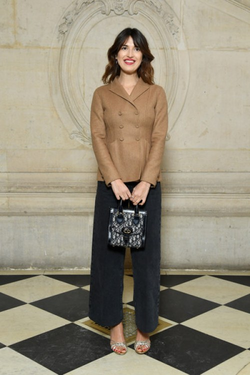 Sencillez exquisita con jeans culotte sandalias y femenina chaqueta Dior (sin olvidar el bolso lady) | Exquisite simplicity with jeans culotte sandals and female Dior jacket (without forgetting the lady Dior bag!)